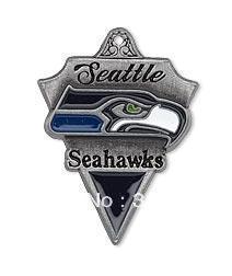 Free shipping 10pcs single-sided Seattle Seahawks pendant(H103973)
