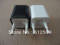 colorful usb 2.0 Mini USB Power Adapter EU plug wall charger for iphone 3g 3gs 4g 4gs 20pcs/lot high quality