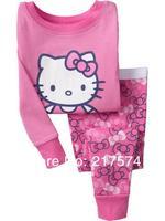 Child Cartoon Pajama Set 7170 In stock Children Cartoon Long Sleeve Pajama Retai Baby Sleeppants +long sleeve Underwears sets