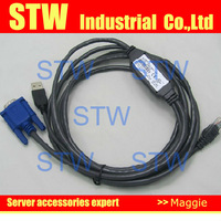 USB KVM cable P/N:39M2898 FRU:39M2894 (replace 31R3132), Plastic pak , in stock , 1 year warranty