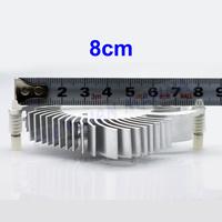 2 Pin 80mm Fan Cooler Heatsink For PC VGA Video Card Cooling 30PCS/LOT FREE SHIPPING FS005