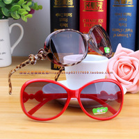 2013 sunglasses personality fashion trend of the sunglasses anti-uv decoration glasses