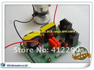40khz Ultrasonic PCB Circuit 100W/220V(China (Mainland))