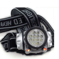 LED 4 MODE HEAD LAMP LIGHT TORCH CAMPING FLASHLIGHT