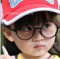 Free Shipping! Super Cute Chiildren Decorate Eyeglasses Stylish Kids Round Eyeglasses Frame Unisex