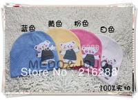 10pcs/lot free shipping baby hat baby cap infant cap Cotton Beanie Infant Hat Skull Cap Toddler Boys & Girls Hats