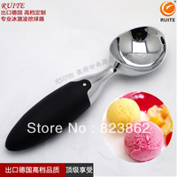 Quality stainless steel ice cream spoon baller ice cream spoon diy tool haagen-dazs necessary tool