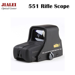 Professional 551 Red and Green Dot Sight Scope Riflescope with Gun Mount Spotting Scope Freeshipping and Dropshipping(China (Mainland))