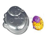 2013 Free Shipping Bettle Shaped Cake Pan Cake Tin Cake Decoration Tool Metal Cake Mould Baking Pan