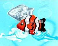 2013 Free Shipping Fish Shaped Cake Pan Cake Tin Cake Decoration Tool Metal Cake Mould Baking Pan