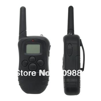 10pcs EMS New LCD 100LV Level 300M Pet Dog Training Collar Shock Vibra Vibrate Remote Control No Barking Anti Bark