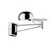 Wall Lamp Swing Arm Wall Lamps extend Bedside Lighting Reading Lights bedroom lamps ajustable Wall-Mounted Swing Arm Wall Lights
