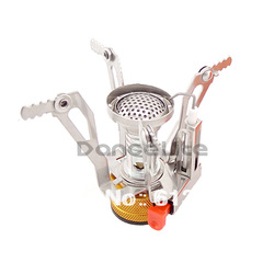 "New Mini 3"" Outdoor Camping Stove Gas-Powered Cooker Picnic Burner Stove Portable Case(China (Mainland))"