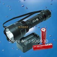 UltraFire C8 CREE XM-L T6 LED 1300 Lumen Flashlight Torch 5 Mode