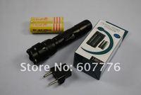 Ultrafire WF-502B CREE XML U2 1300 Lumens 5-Mode Led Flashlight(2*18650+Charger)+Free Shipping