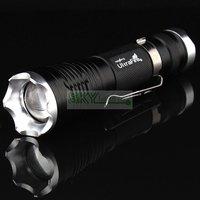 Ultrafire 1300 Lumen Zoomable CREE XM-L T6 18650 LED Flashlight Torch Zoom Lamp Light