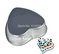 2015 Heart Shaped Cake Pan Baking Mold Tin Cake Decoration Tool  Metal Cake Mould  Baking Pan Free Shipping
