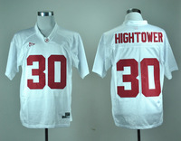 Fast shipping, wholesale price for NCAA A.L Crimson Tide #30 Tim Hightower Jersey In white color size M-3XL, Mix order