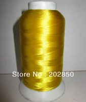 Free Shipping Embroidery Sewing Thread, 40 Mixed Colours Available,3000M, 120D/2 ,For Embroidery&Cross Stitch Use,Very Low Price
