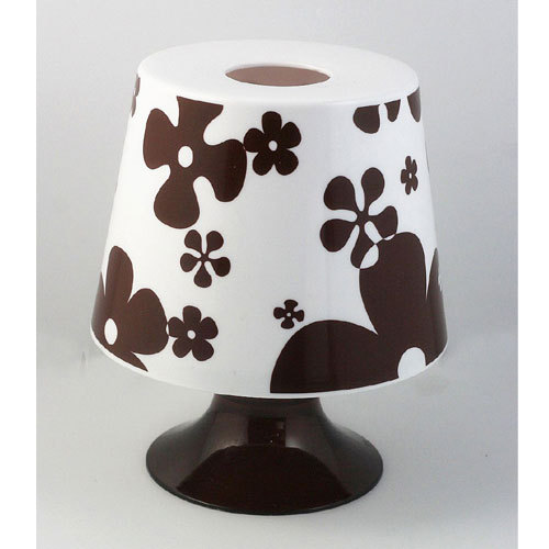 Table lamp circle style tissue box coffee small flower Novelty Lamps(China (Mainland))