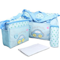 Parent-child bag nappy bag mummy bag 4 car red blue