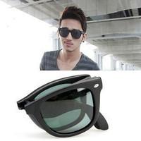 Star style rb4105 folding polarized sun glasses large sunglasses male women's fashion vintage