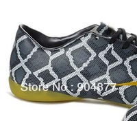 ^_^  INDOOR flat  victory VIII IC snake soccer boots  snakeskin special edition football shoes soccer shoes