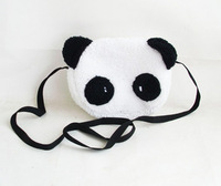 2013 double-shoulder canvas buns panda bag women's handbag