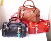 Free shipping 2013 the whole network granule fabric rhinestone pasted cartoon pendant handbag cross-body bags female
