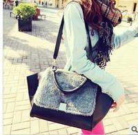 free shipping,  2013 fashion vintage bag briefcase one shoulder handbag women's handbag m02-133