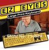 1PC  Large Print EZ EYES Keyboard Waterproof  USB Old Man Keyboad , As Seen On TV products