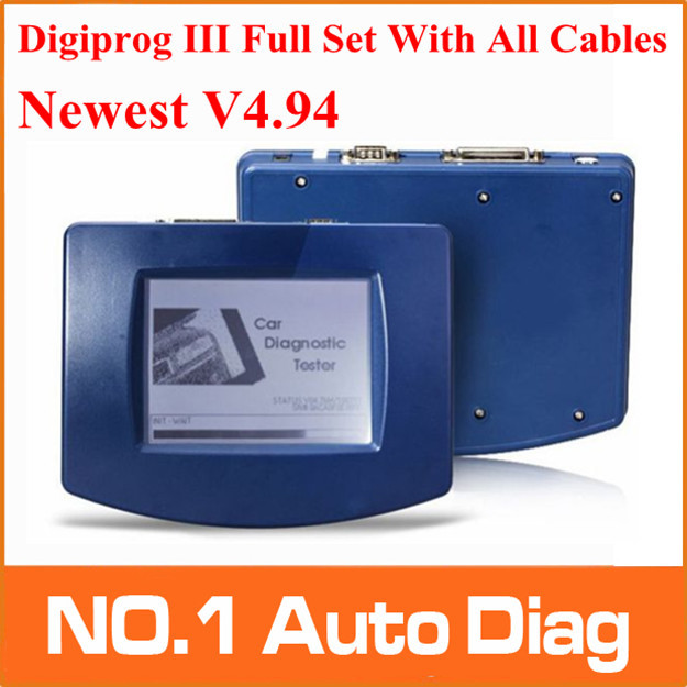 2013 Top-Rated Newest high quality Newest Digiprog III Digiprog 3 Odometer Programmer With Full Software v4.82(China (Mainland))