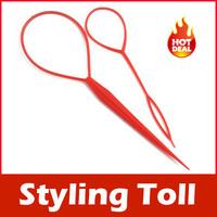 2Pcs Topsy Tail Hair Braid Ponytail Maker Styling Tool