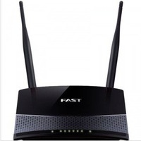 Fw300r 300m wireless router double aerial wifi color