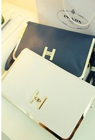 New 2013 arrival lady handbag, leather shoulderbag woman,envelope bag   shipping bag,1pce wholesale.TB-039