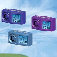 Free Shipping MP3 FM Radio Desk LED Alarm Clock