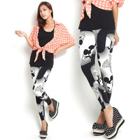 2013 legging autumn spring and autumn female cartoon MICKEY MOUSE print