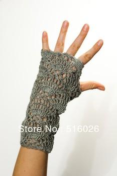 wholesale Crochet Lace Gloves, Bridal, wedding fingerless glove, flower, Classic, wrist, Dance, color choice 4 pair/lot