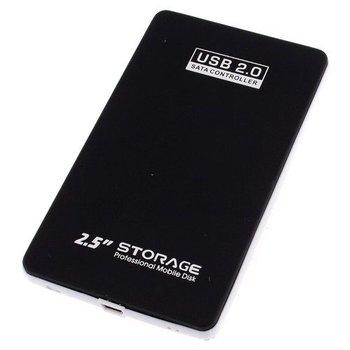 USB 2.0 2.5 inch SATA HDD  Case HD Hard Drive Disk Enclosure Black Color  Free Shipping+Drop Shipping Wholesale