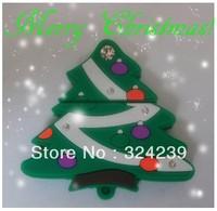 M-218 Wholesale Cheap Enough Cartoon Christmas tree 4GB 8GB 16GB 32GB  USB 2.0 Flash Memory Stick Drive