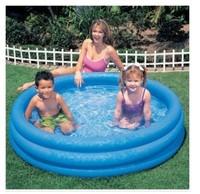 Intex-58446 crystal blue paddling pool inflatable swimming pool sand pool ocean ball pool