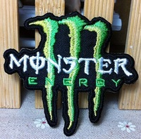 Free Shipping~20 pcs/lot Wholesale Embroidered monster  Iron On Sew On patches Applique Badges