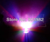 RGB fast flashing 2-PIN 5MM led diode 7-color changing light diode festival lighting 3.0-3.4V 15-20mA(CE&Rosh)