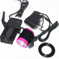 Cycling Accessories CREE T6 1600 Lumen LED Cycle Safety Bright Light Set Bicycle Lamp Headlight Bike Front Flashlight Headlamp
