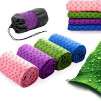 Slip-resistant yoga towel lengthen thickening yoga towel yoga blanket wraps