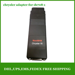 Lowest price 2013 A+++ quality Chrysler Adapter for Autel MaxiDAS DS708 Free Shipping(China (Mainland))