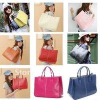 Hot Elegant Women Bags Handbag Lady PU Handbag PU Leather Shoulder Bag Handbags Free Shipping Factory Price 1Pcs/Lot W1237