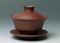 Yixing Gaiwan  tureen tea device purple clay tea cup