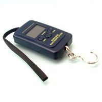 Free Shipping Portable 40kg Electronic scale 40kg/10g Fish Hook Luggage Hanging Digital Scale