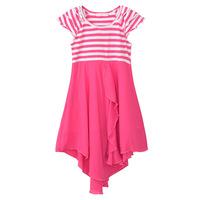 2013 summer Children child Girl Kids 100% cotton vestido menina saias femininas za tunic boho prom princess dress PFXS41P16